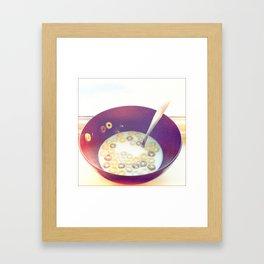 breakfast medley Framed Art Print