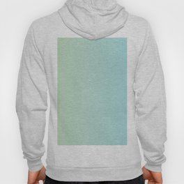 Turquoise Green Blue Gradient Hoody