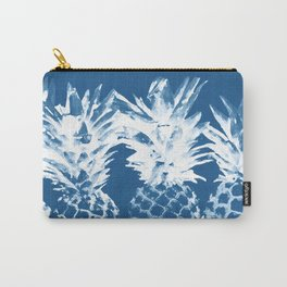 Pineapple blues Carry-All Pouch