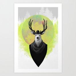 Gentledeer Art Print