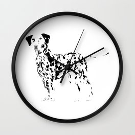 Always Spotted Wall Clock