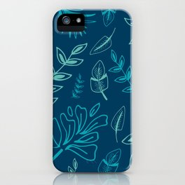 Tropical Leafs iPhone Case
