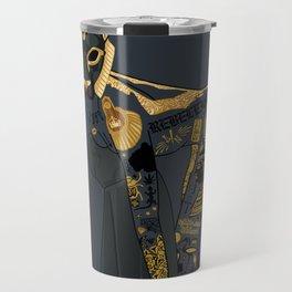 Late Night Egyptian Tales Ep. 4: Sekhmet Travel Mug
