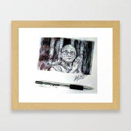 DALAI LAMA Framed Art Print