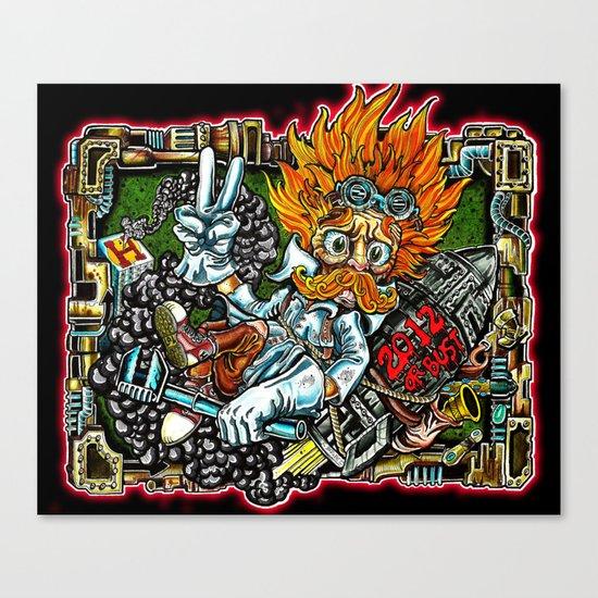 heimerdinger color variant Canvas Print