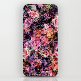Polychromatic Roses iPhone Skin