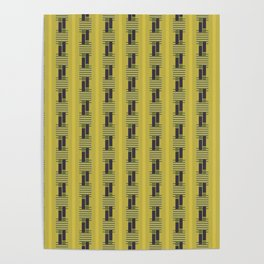 Weaving Pattern Poster