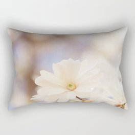 When the Magnolia Bloom Rectangular Pillow