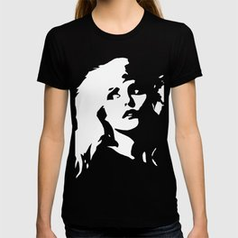 Blondie, Music Legend, Black, White, Cinema, Art, Author, Song Writer, Musician, Punk, T-shirt