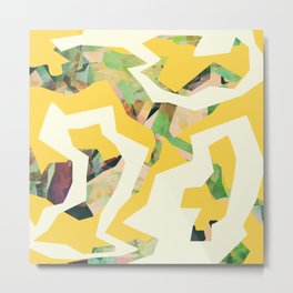 Camouflage XXXV Metal Print