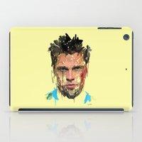 tyler durden iPad Cases featuring Tyler by Marcello Castellani
