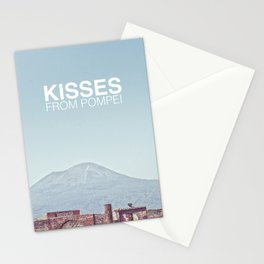 Kisses from Pompei Stationery Cards