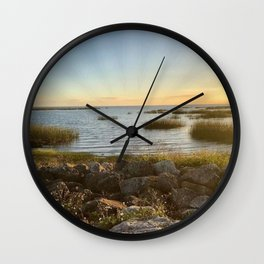 """""""Lake Okeechobee"""" Wall Clock"""