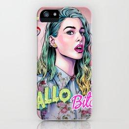 Hallo B*tch iPhone Case