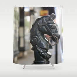 New Orelans Hitching Post #6 Shower Curtain