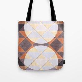 Triangles and Circles Pattern no.24 Tote Bag