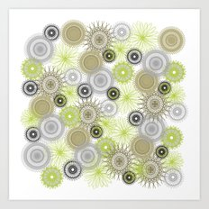 Modern Spiro Art #6 Art Print