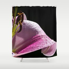 After The Rain Lily Shower Curtain