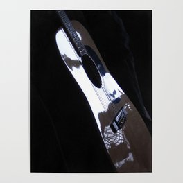 Solo guitar mood Poster