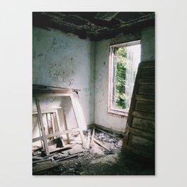 Abandoned Hospital, Great Diamond Island, ME Canvas Print