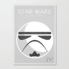Star Wars IV: A New Hope Canvas Print