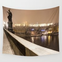 prague Wall Tapestries featuring Prague 7 by Veronika