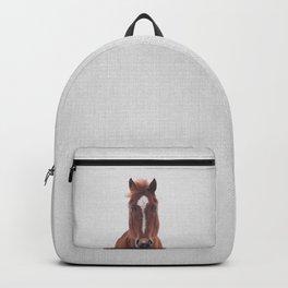 Horse II - Colorful Backpack