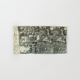 Gray Brick Wall Hand & Bath Towel