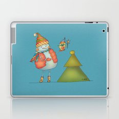 Friends keep warm Laptop & iPad Skin