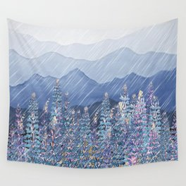 Mountain Lupine  Wall Tapestry