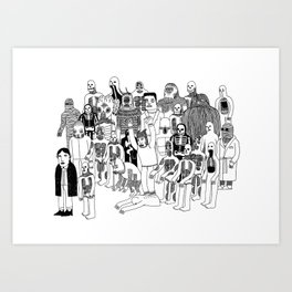 Monster Mash Art Print