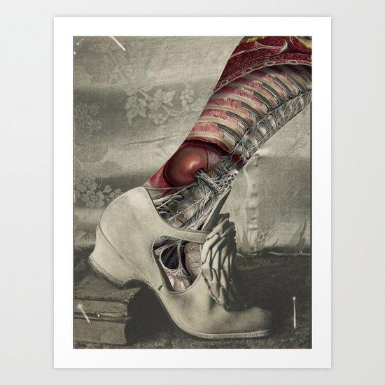 NUMBER 18 (SHOE) Art Print