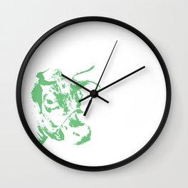 Follow the Green Herd #778 Wall Clock