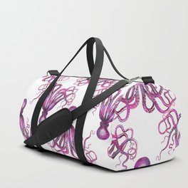 pink Octopus unique underwater creature Duffle Bag