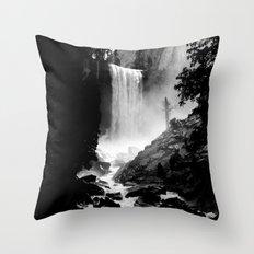Yosemite Vernal Falls Throw Pillow