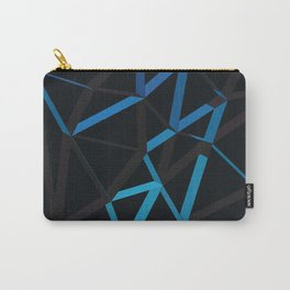 3D Futuristic GEO Lines VI Carry-All Pouch