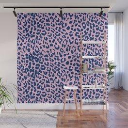 Pink Leopard Skin Wall Mural