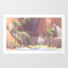 Landscape 149 Art Print