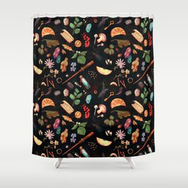 Practical Hexes Shower Curtain