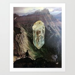 Crystal Canyon Art Print