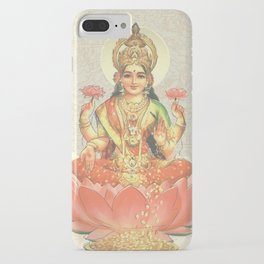 Lakshmi, Goddess of Love (Coral) iPhone Case