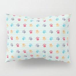 Paw Prints Pillow Sham