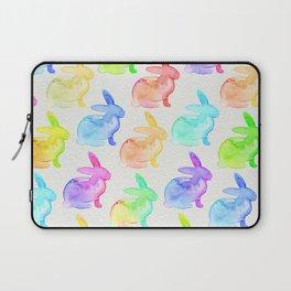 Watercolor Bunni Laptop Sleeve