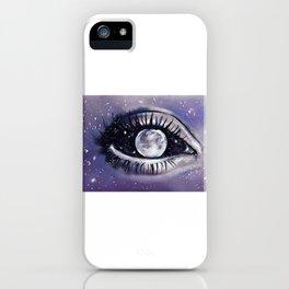 moony eye iPhone Case