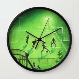 Soccer Practice Wall Clock