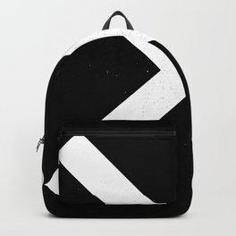 (CROSS) (BLACK & WHITE) Backpack