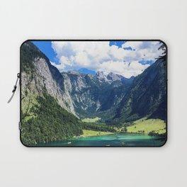 Berchtesgaden National Park lake mountains summer Germany Laptop Sleeve