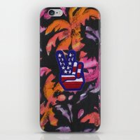 american iPhone & iPod Skins featuring American by jajoão