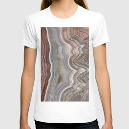 Striped Agate Crystal T-shirt