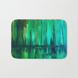 Green reflection Bath Mat